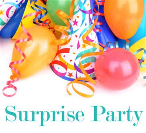 essay about surprise party